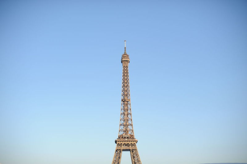 Capital Cities  City Clear Sky Eiffel_tower  Famous Place Paris Tower