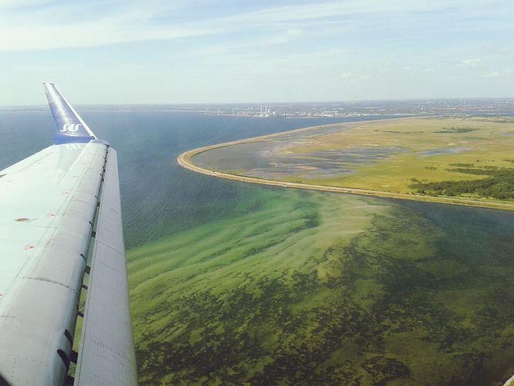 Nearly landed Summer In Denmark The Explorer - 2014 EyeEm Awards The Moment - 2014 EyeEm Awards From The Plane Window