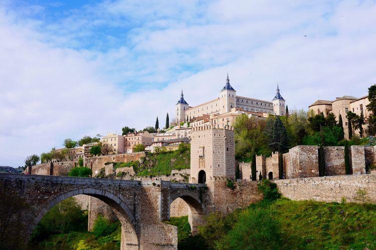 SPAIN Toledo Alcazar Trip Traveling Travel Sky Beautiful Hello World Taking Photos Enjoying Life