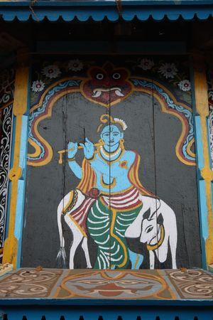 Shiva and Nandi @Gokarna India Hinduism India Gokarna Shiva Nandi Naturally Crafted