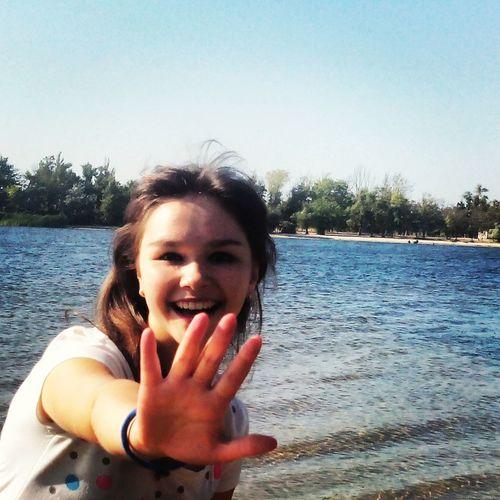 HAPPY GIRL! Hello World Enjoying Life Good Times