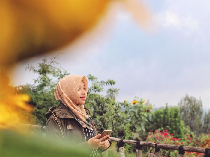 In the garden. salatiga, taken in january 2020