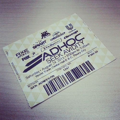 Party for a cause!!!! It was one of the best party i've been to. Tiring it was buy very fulfilling!!!! Adhoc Collegeparty