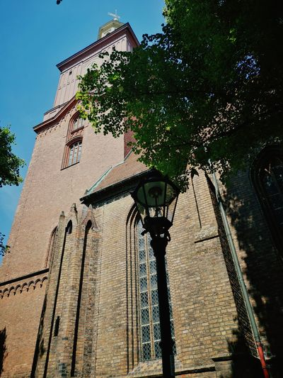 Church Buildings Churchtower Historical Building Religious Architecture Backsteinkirche EyeEm Gallery Eye4photography  Berliner Ansichten My Eyes My Berlin MyPhotography