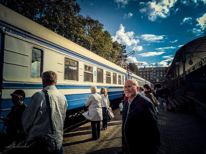 Streetphotography Fujifilmru Fujifilm X-Pro1 35mm Streetphoto_bw Kaliningrad РЖД поезд Train Station