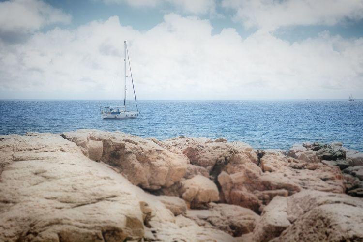 OpenEdit Nikon Summer Catalunya Summertime Girona Calella De Palafrugell. Catalonia Life Is A Beach Blue Water Sea Beach Nautical Vessel Sailing Ship