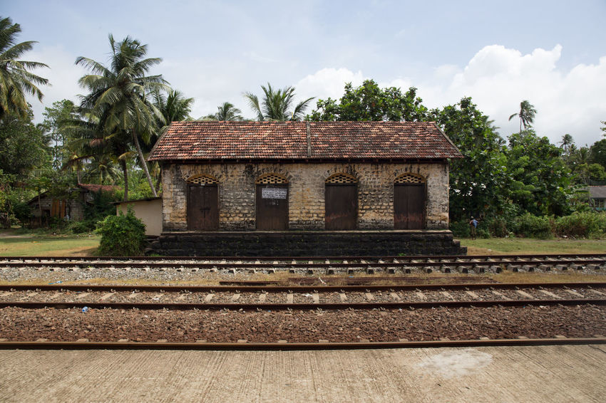 Travel in Sri Lanka Adventure Architecture ASIA Asian  Built Structure Destination Discover  Discovery Exotic Holiday Island No People Rail Transportation Railroad Track Sky South Asia Sri Lanka Sri Lankan Travel Travel Destinations Travel Photography Traveling Uncover Visit Voyage