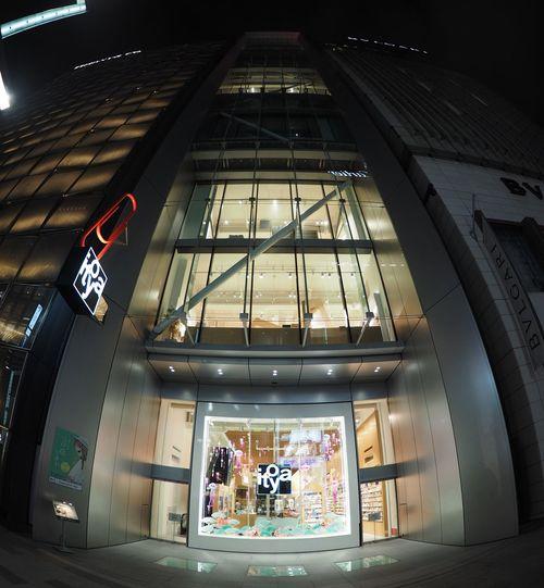 伊東屋 Taking Photos Taking Pictures Architecture Relaxing Nightphotography Streetview Night View Ginza Mainstreet Stationary Giftshop Streetphotography Ito-ya 本日の営業は終了致しました