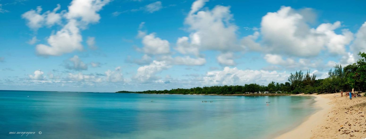 Plage du Souffleur Beauty In Nature Sky Tranquility Sea Tranquil Scene Idyllic Beach Horizon Over Water Tropical Climate Landscape #Nature #photography Guadeloupeislands Guadeloupe-F.W.I Landscape_photography Guadeloupe River