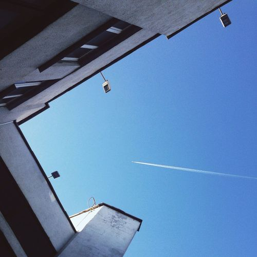 Sky Blue Sky Plane Airplane First Eyeem Photo