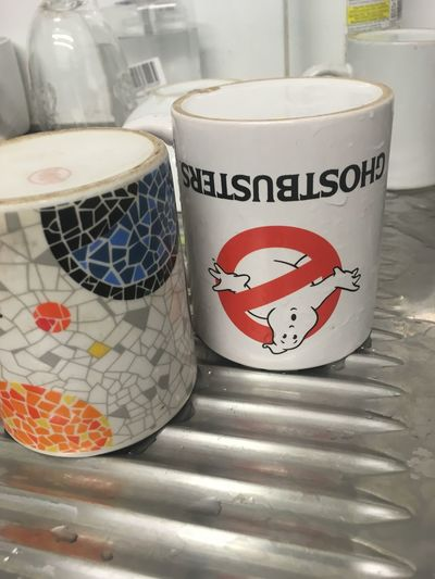 Ghostbusters Ghostbusters30th GhostBuster Mug England, UK Breakfast Break Lunch Time! Comic Comics Ghost Town Ghost Ghostly