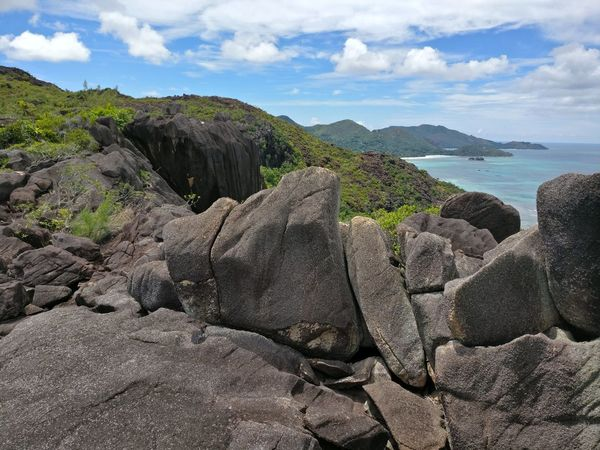 Rock - Object Nature Landscape No People Beauty In Nature Praslin Seychelles Islands Seychelles Tropical Climate Tranquility Outdoors Beauty In Nature Hiking Hiking Adventures Seychellesisland