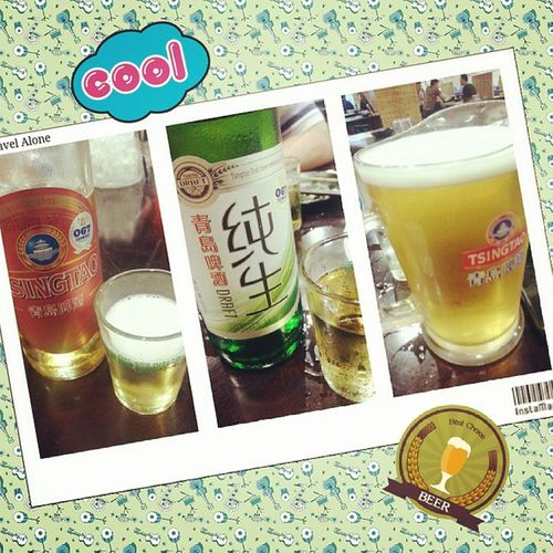以前很愛青島極品,口感不錯,但酒這種東西,還是有朋友在的時候再喝,朋友不在,喝起來實在是乏味 青島極品 青島純生 @青島生啤