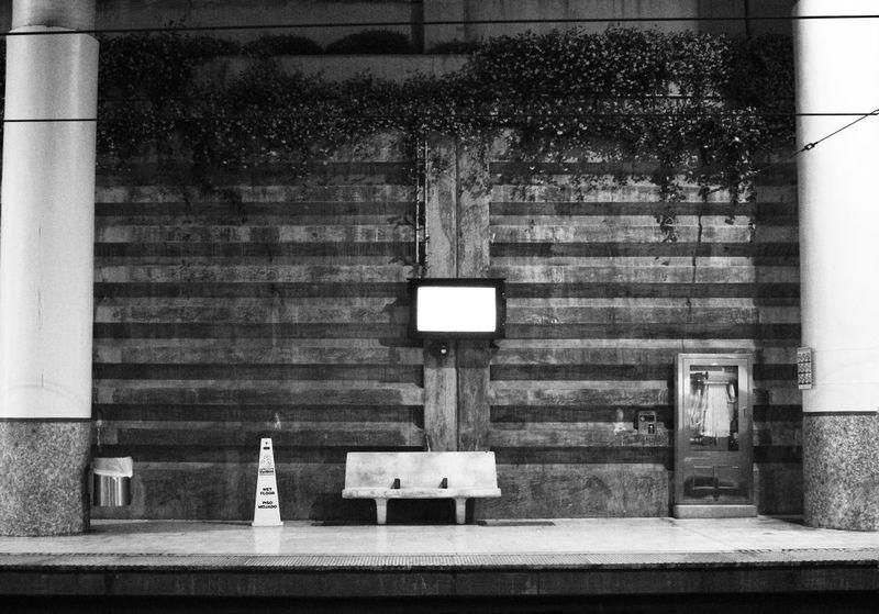 Blackandwhite Black White City Urban Subway Underground Pasadena  Monochrome Abandoned Canon Sl1 Hello World Taking Photos