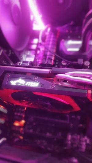 Technology Indoors  Close-up No People Pink Lights LED Msi Gaming PCGaming Pcgamer Pcmasterrace