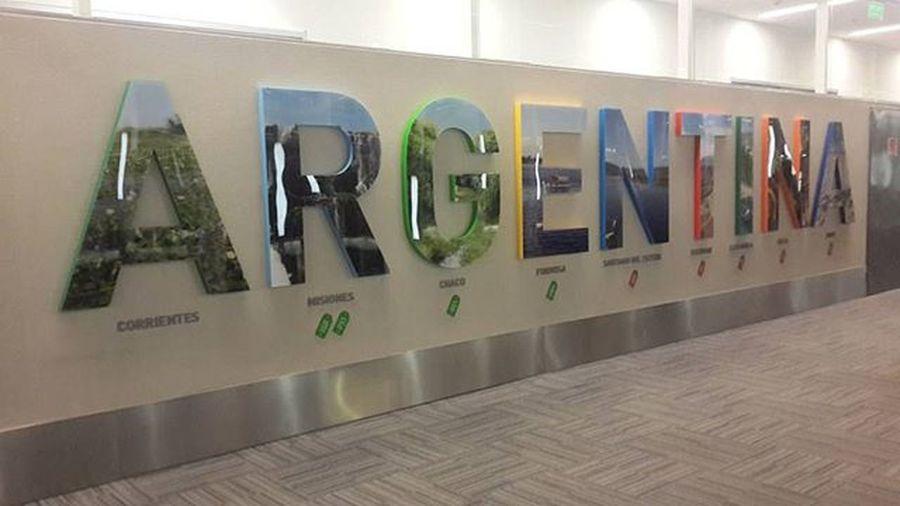 Bienvenida a Argentina!!!