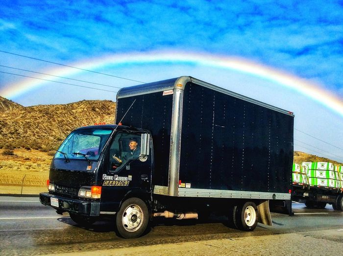 Rainbow Truck