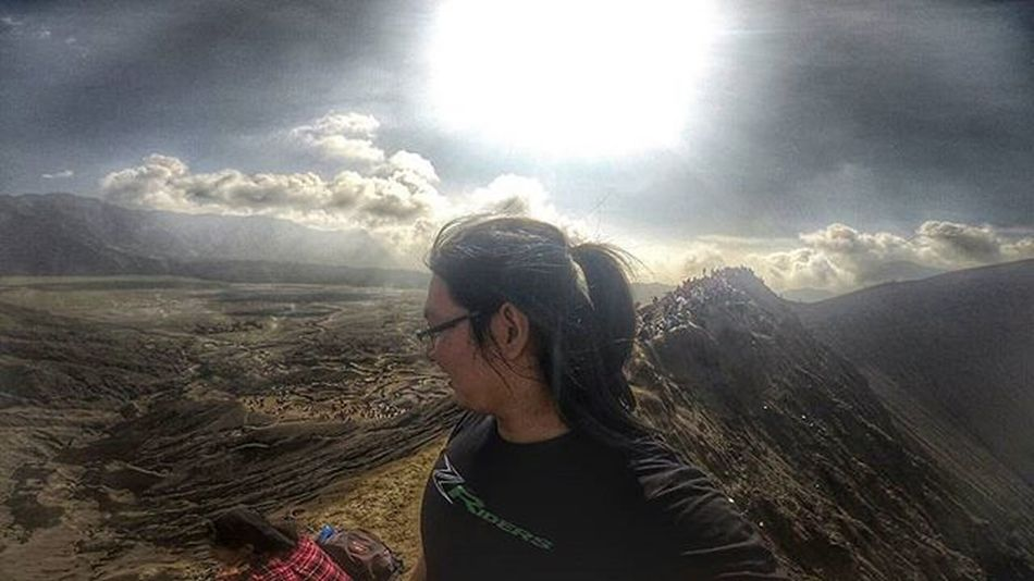 Mountain Volcano Crater Bromo Val  2016 Gopro Gopro3plus Goproblackedition Goproeverything Goprooftheday Goprohero3 Gopro_moment Val  2016 Miles Away Go Higher