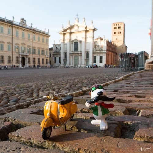 Mantova Vespa Snoopy Showcase April