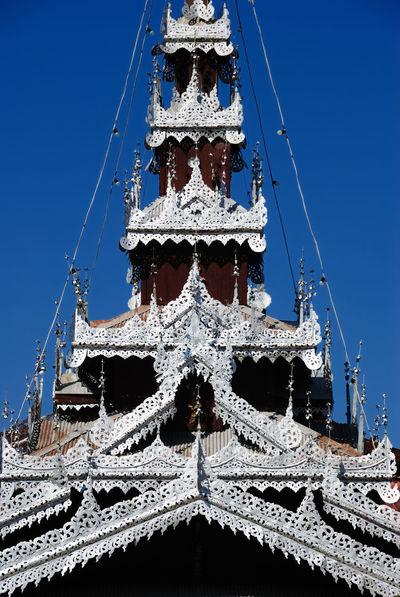 Thai Lanna Culture Thai Lanna Building Northern Thailand Thailand