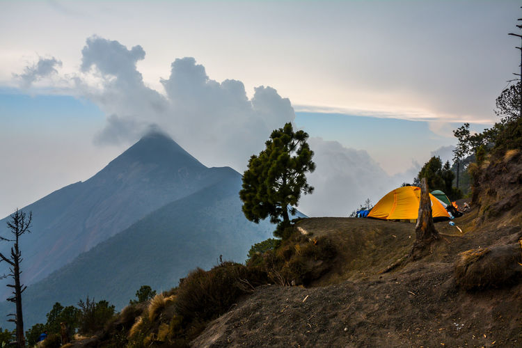 Acatenango Adventure Camping Central America Guatemala Hiking Mountain Nature Outdoors Tent Travel Travelphotography Trekking Vacations Volcano Wanderlust