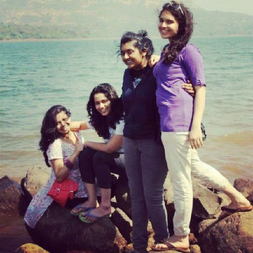 Couldn't get anymore perfect! Awesomefour 4yearsoffriendship Friendsforlife Trip drive pajerosport lakeside pictureperfect windinmyhair lovelyweather love missyou muah