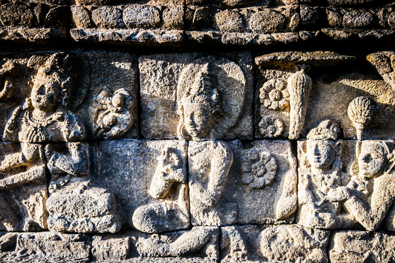 carving - craft product, bas relief, ancient civilization, architecture, sculpture, ancient, day, no people, outdoors, built structure, close-up