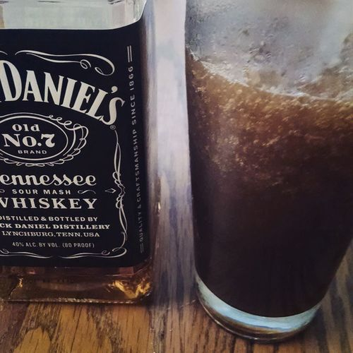 Jack Daniels and coke slushies. Victorysandwichbar had a solid idea. I just needed to be able to drink them while not wearing pants. Adiospantelones Jackandcoke Slushie Jackdaniels