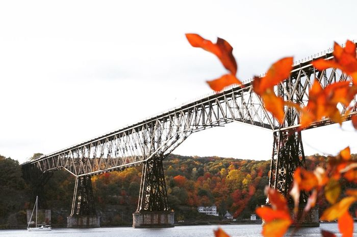 Poughkeepsie New York Fall Beauty Fall Fall Colors Bridge