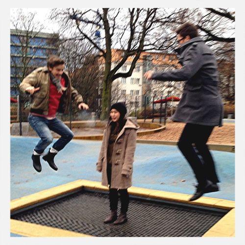 Not Jumping My Friend Severin
