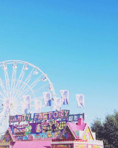 Houston Rodeo 2016 Candy Floss Rodeo Sky Clear Sky Copy Space Amusement Park Amusement Park Ride Blue Nature