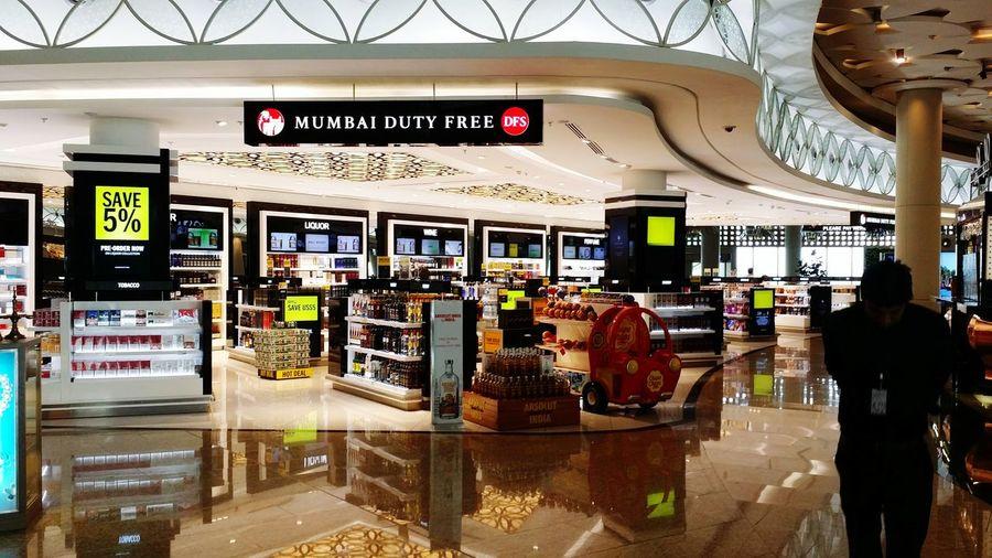@Mumbai Airport