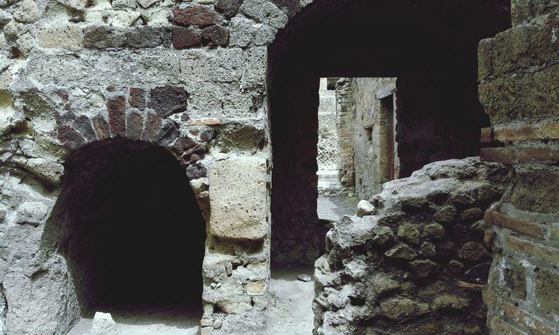 Ancient Antique Ruine Italie Italy🇮🇹 Herculaneum Day Indoors  No People Architecture