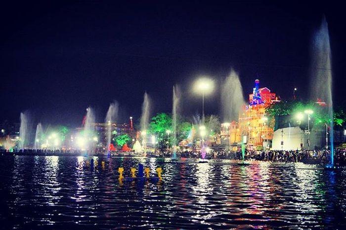 Simhasthujjain2016 Sadhus Culture Shipra River Ramghat Devotional Piligrim Kumbhmela Kumbha Ujjain Lights Night Temple