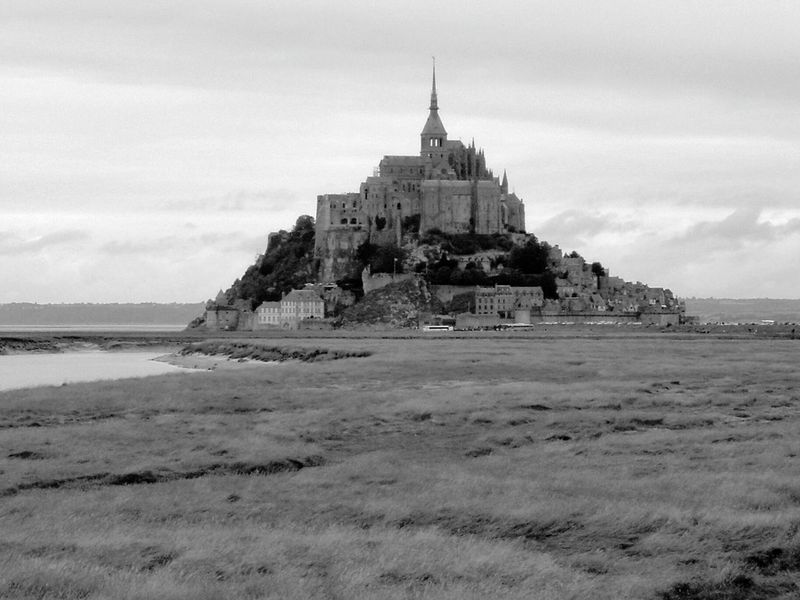 Mont saint michel Mont Saint-Michel Mont Saint Michel Church France Sea Tide