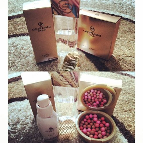 Cosmetics Super Handsomely Gold color giordani gold