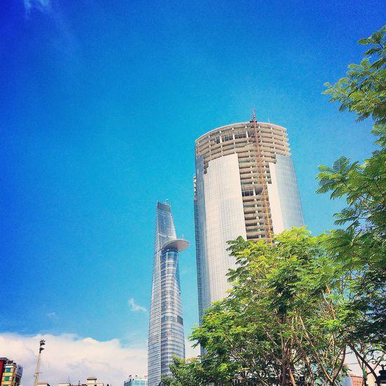 Nice Day Saigon Vietnam Sky