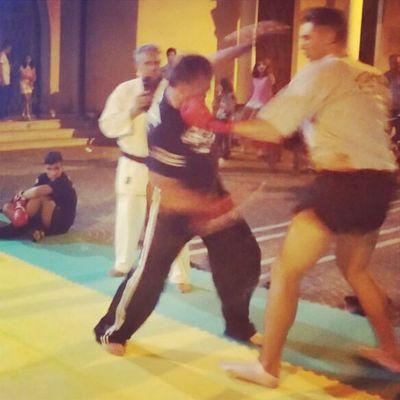 Nice match!? Boxe Kickboxe Match Win knockout bellaserata