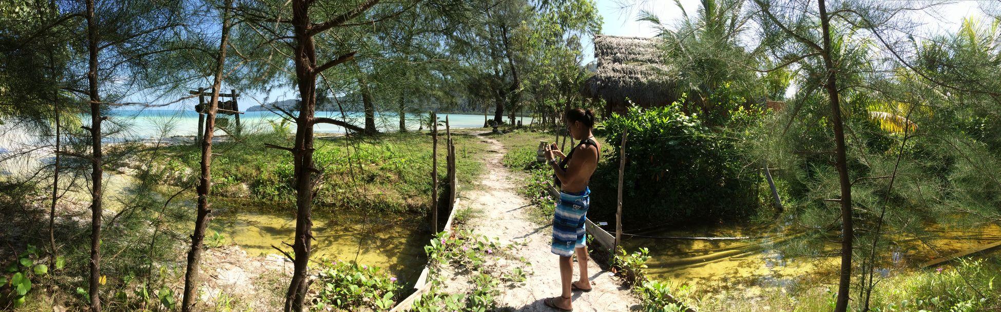 A little adventure. Cambodia Kohrongsamloem Panoroma Nature Adventures