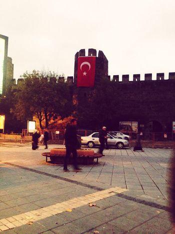 Turkey Kayseri Kale şanlıtürkbayrağı 10Kasım