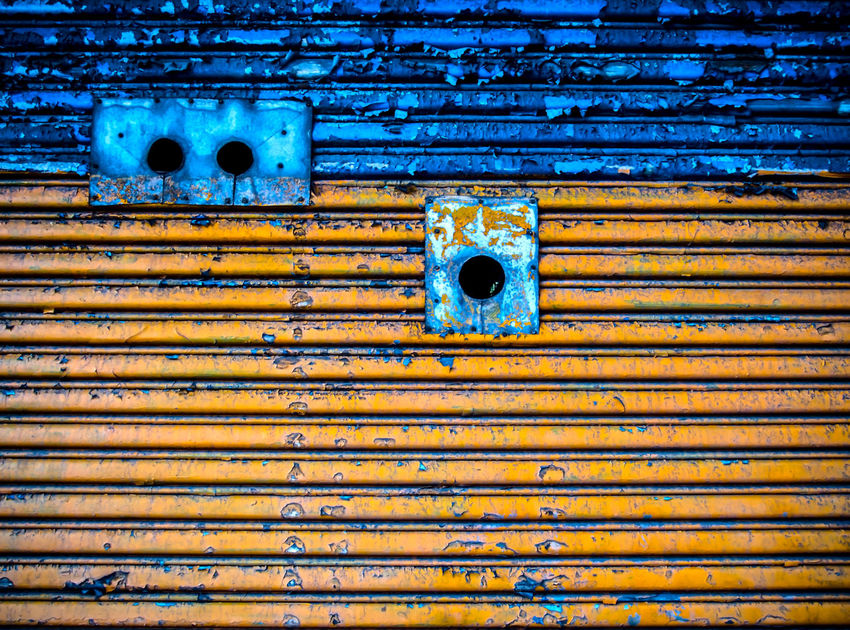 Weathered Garage Door Minimalism Minimal Minimalist Minimalobsession Abstract Abstractart Abstractions In Colors Abstract Photography Abstract Art Abstractporn Garage Door Decay Decayed Tarnished Tarnished Beauty Yellow Blue James Aiken James Aiken Photography Industrial Industrial Photography Industrialbeauty Steel Geometric Shapes Your Design Story