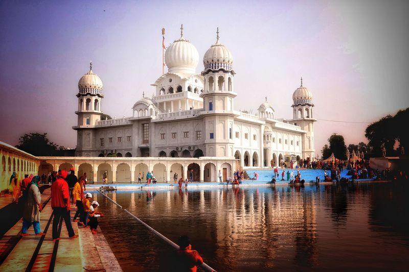 Gurudwara #architecture Gurudwara Punjab Architecture_collection Architectural Feature Indianarchitecture