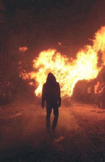 Fire Hollow Man