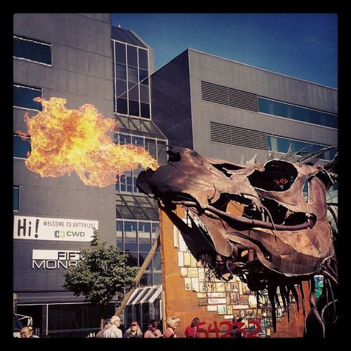 Grandrapids Artprize Dragon Fire