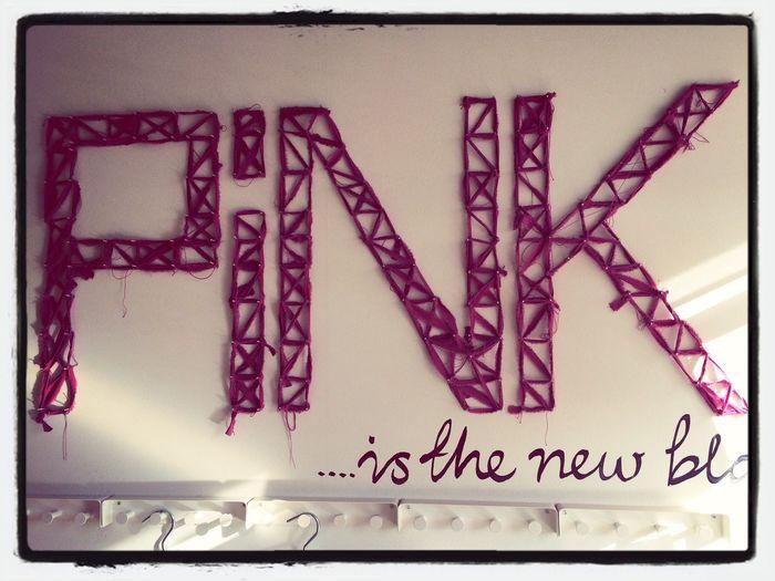 Pink is the new black :-) IKEA Pinkisthenewblack Pink Inspiration
