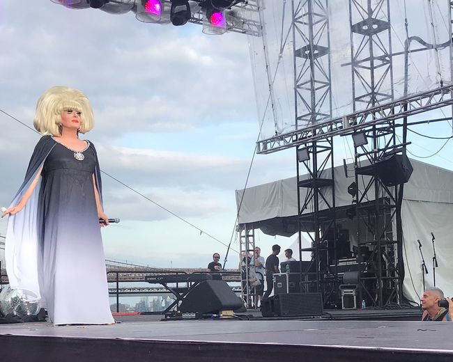 They still need a Queen Equality NYC Stage Wigstock Reinvent Renovation Show Legendary Legend LadyBunny Dragqueen  Drag Real People A New Beginning