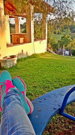 Hanging Out Relaxing Enjoying Life Shades Nature Holidays ☀ Marygoround Farm