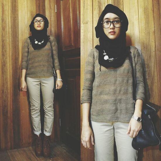 lita Boots Ootd Hijabi