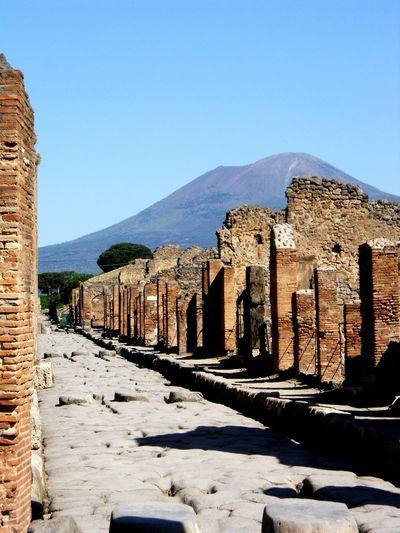 Pompeii  Mount Vesuvius Italy EyeEm Italy Travel Eyeem Travel Historic Site The Artsy Lens Ladyphotographerofthemonth Nikonphotography The Great Outdoors - 2016 EyeEm Awards