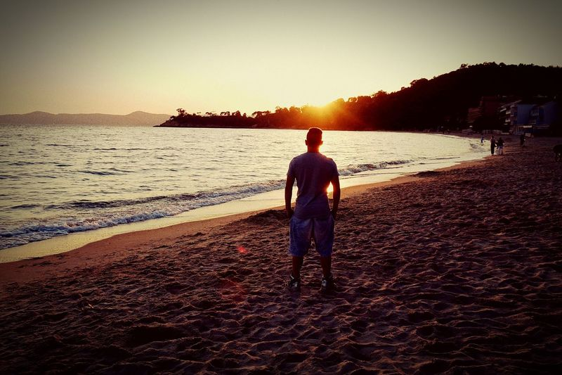 STAND First Eyeem Photo St.Tropez Meer Jordans On My Feet  B.A.D.T Am3 Beach